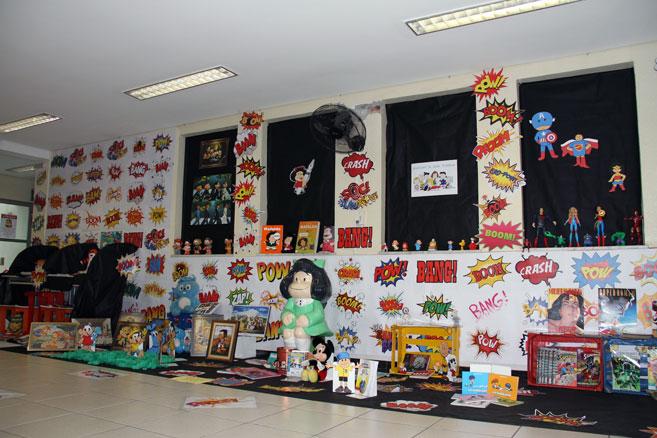 Exposição-quadrinhoss