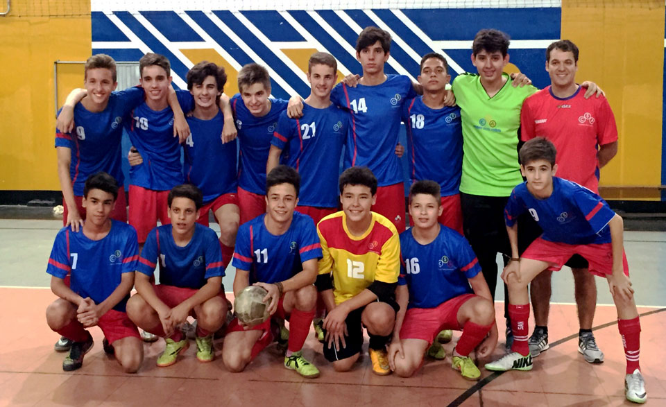 Equipe Campeã do CSA - Futsal Sub-15.