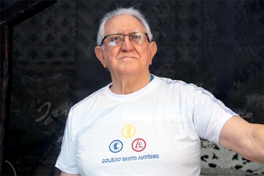 Sr. Haroldo no Colégio Santo Antônio