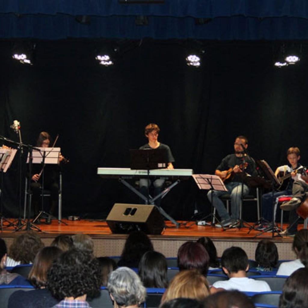 Apresentação da Orquestra Experimental do CSA na Semana Teológica