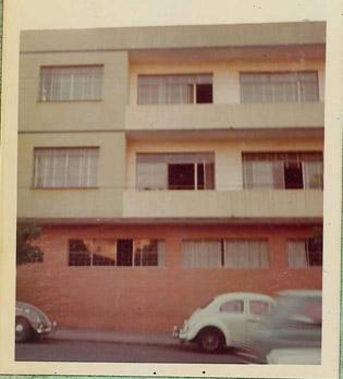 Fachada do Colégio Santo Antônio em 1974