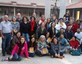Retiro dos cursos de teologia em Santos Dumont