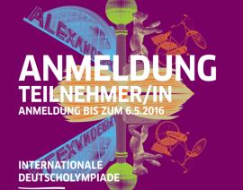CSA na Olimpíada Internacional de Alemão