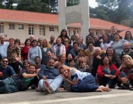 Retiro anual dos cursos de Teologia em Santos Dumont