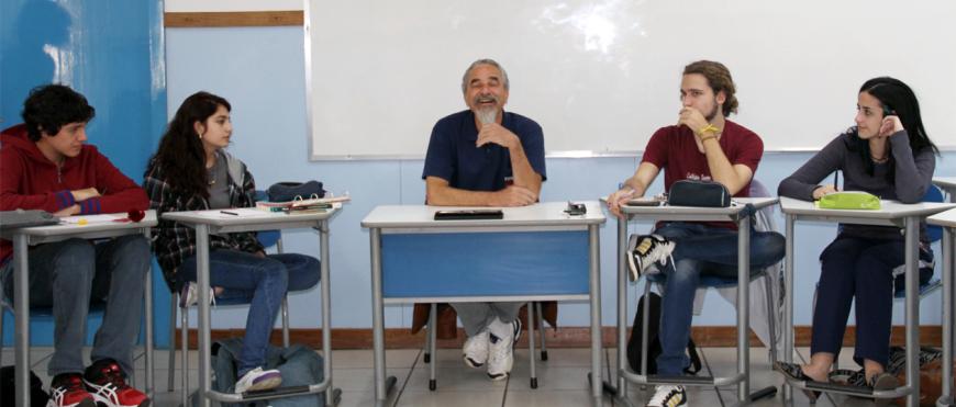 CSA Avançado recebe professor convidado