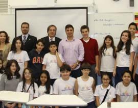 CSA recebe o embaixador da Alemanha