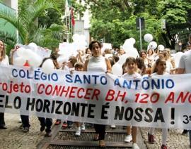 Coleginho comemora 120 anos de Belo Horizonte