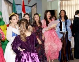 Família real portuguesa no Coleginho