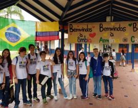 Colégio Santo Antônio vai à Colômbia