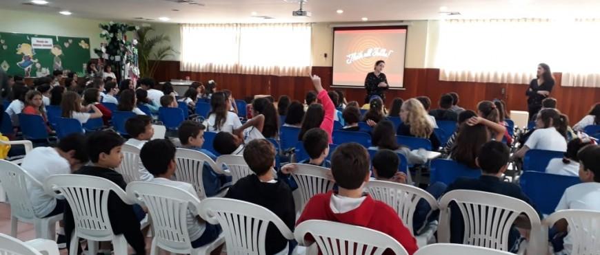 Alunos do 4º Ano participam de palestra sobre preservação do Patrimônio Cultural
