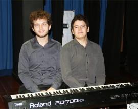 Apresentação de Piano no Colégio Santo Antônio