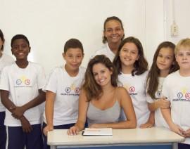 Ex-aluna do CSA brilha na novela Malhação