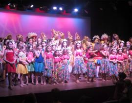 CSA marca presença no XII Festival Intercolegial de Danças Populares
