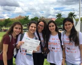 Artigo do CSA Avançado conquista prêmio de destaque em Feira de Ciências da UFMG