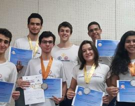 Alunos são medalhistas nas Olimpíadas Brasileira e Mineira de Química
