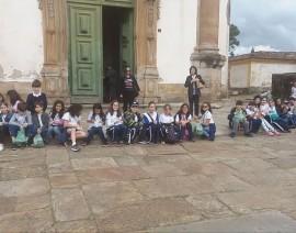 Alunos criam blogs sobre visita a Ouro Preto