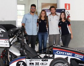Ex-alunos criam carro e representarão o Brasil em competição nos EUA