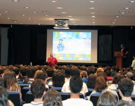 8 Universidades Estrangeiras vêm ao CSA para bate-papo com os alunos