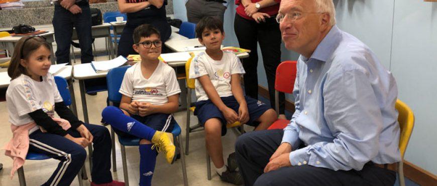 CSA recebe visita do autor internacional Herbert Puchta