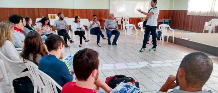 Encontro de formação do extracurricular