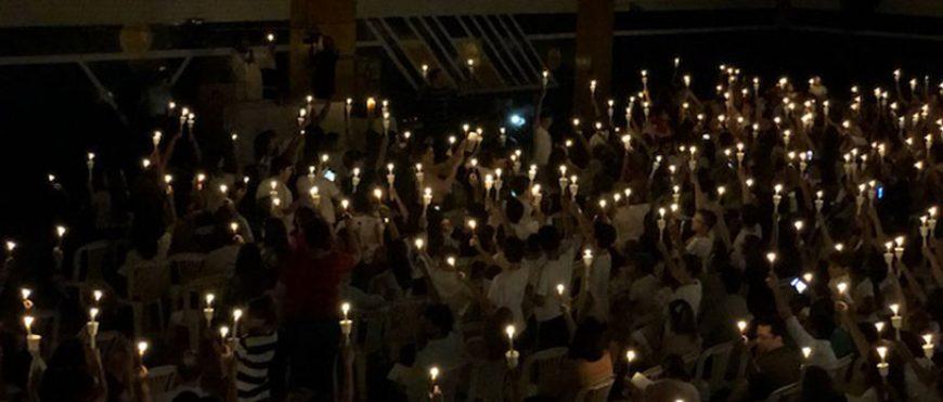 Missa de Crisma e a Renovação das promessas batismais no CSA