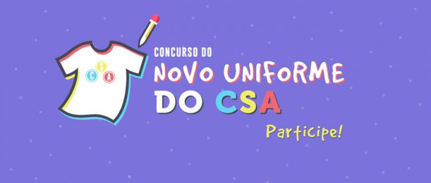 Concurso: Novo uniforme do CSA
