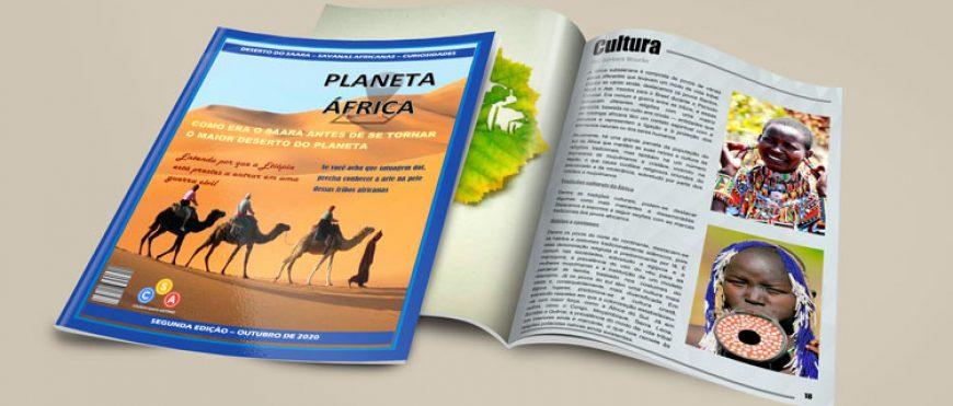 Alunos criam revistas sobre o continente africano