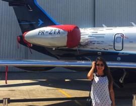 Conheça a Rita Cordeiro, ex-aluna e hoje engenheira na Embraer
